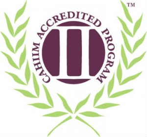 CAHIIM accredited