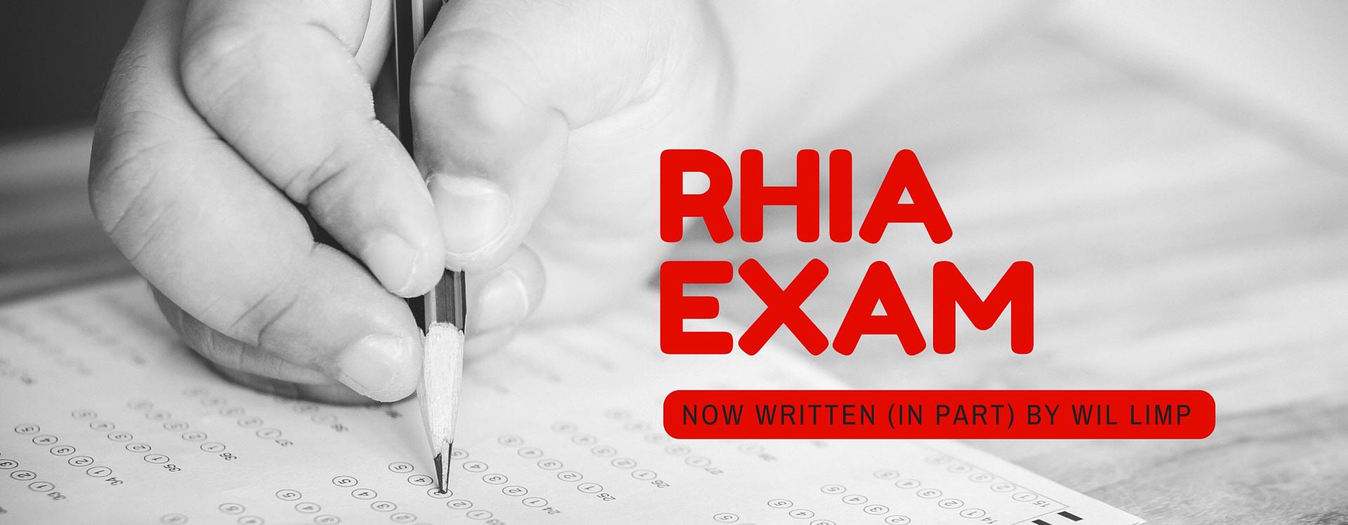 RHIA Exam