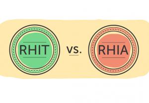 RHIA vs. RHIT